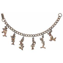 Disneyland (6) Charm Bracelet.