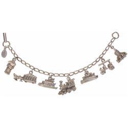 Disneyland (7) Charm Bracelet.