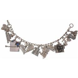 Disneyland (13) Charm Bracelet.