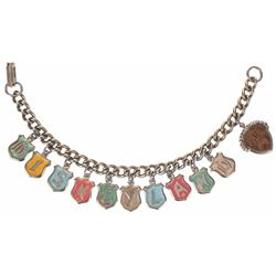 Disneyland (11) Charm Bracelet.