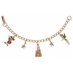 Disneyland (5) Charm Bracelet.