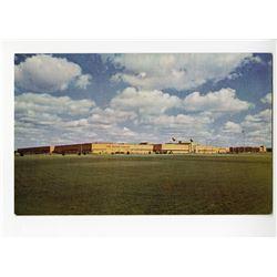 Disneyland Postcard - Upjohn Manufacturing Building.