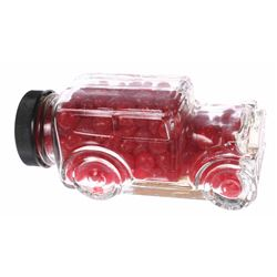 Main Street Market House Glass Automobile Candy Jar.