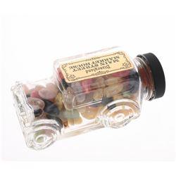 Main Street Market House Glass Automobile Candy Jar.