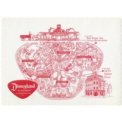Red Wagon Paper Place Mat.