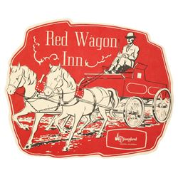 Red Wagon Inn Child's Menu.