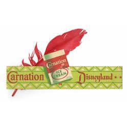 Carnation Ice Cream Parlor Child's Indian Headband.