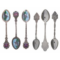 Collection of (6) Disneyland Spoons.
