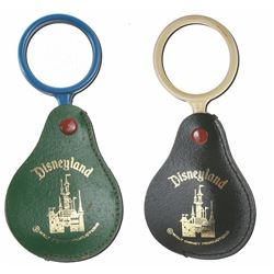 Pair of (2) Disneyland Magnifying Glass Merchandise Product Samples.