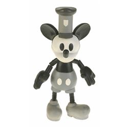 "Hand Carved Limited ""Steamboat Willie"" Figurine."