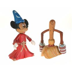 "Pair of (2) ""Fantasia"" Limited Edition Hand Carved Figures."