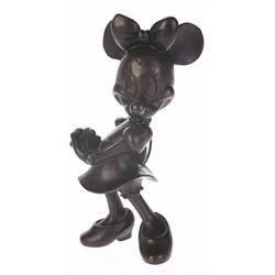 Limited Edition Bronze Minnie Mouse by Blaine Gibson.