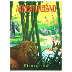 """Disneyland Adventureland """"Near-Attraction"""" Poster."""