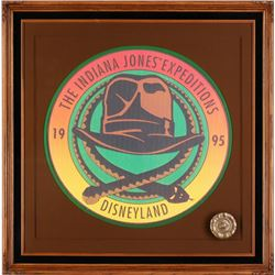 """Indiana Jones Expeditions"" Framed Development Logo."