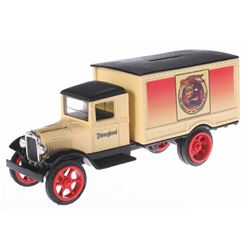 Prototype Indiana Jones Truck Bank.
