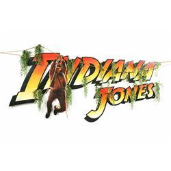 """Indiana Jones"" Second-Story Building Display."
