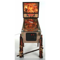 Indiana Jones - The Pinball Adventure  Custom Modified Machine.