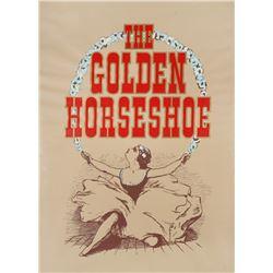 Golden Horseshoe Broadside Poster.