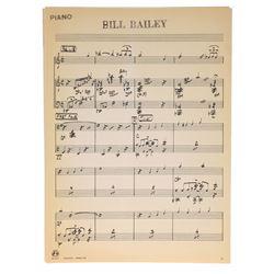 "Betty Taylor's ""Golden Horseshoe Review"" Sheet Music - Bill Bailey."