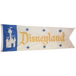 """""""Mark Twain"""" Disneyland Flag."""