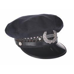 """Mark Twain"" Captain Hat and Badge."