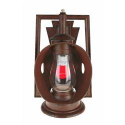 """Big Thunder Mountain Railroad"" Lantern."