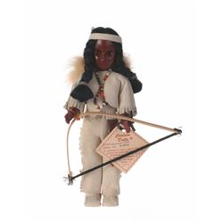 "Carlson Dolls ""Blackfoot Chief"" Collector's Doll."