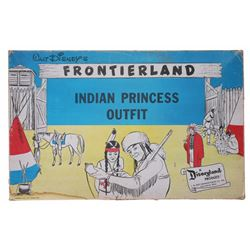 Frontierland Indian Princess Outfit in Original Box.
