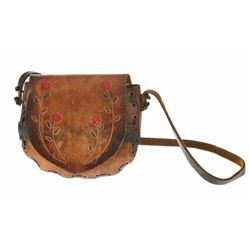 Disneyland Brown Leather Purse.