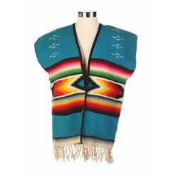 """Mexican Village"" Wool Vest."