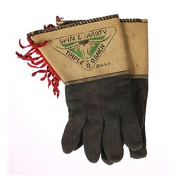 """Spin and Marty"" Ranch Gloves."