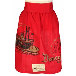 Frontierland Hand-Printed Apron.