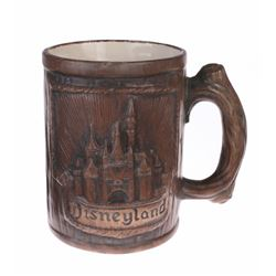 Ceramic Wood-Look Souvenir Mug.