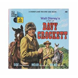 """Walt Disney's Story of Davy Crockett"" Record & Book."