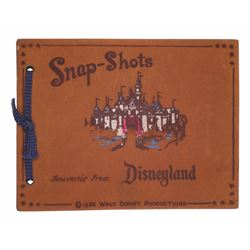 "Leather ""Snap-Shots"" Souvenir Photo Album."