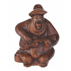 "Country Bear Jamboree ""Big Al"" Coin Bank."