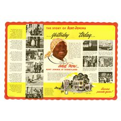 Aunt Jemima's Kitchen Place Mat.