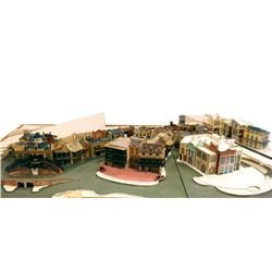 John Stone Imagineering Model of New Orleans Square.