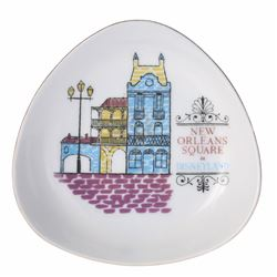 New Orleans Square Ceramic Dish.