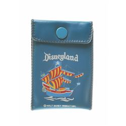 Disneyland Pirate Ship Fold-Out Snap Wallet.