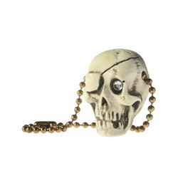 "Randotti ""Pirate Skull"" Keychain."