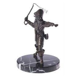 "Pirates of the Caribbean Limited Edition Bronze ""Auctioneer"" ."