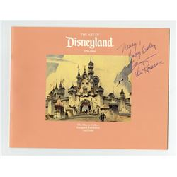Signed  The Art of Disneyland  Inaugural Exhibition Guide.