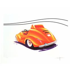 "Autopia Concept ""Cute Car"" Limited Edition by Jason Hulst."