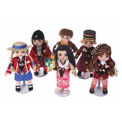 "Collection of (6) Marie Osmond ""Adora Belle"" Disneyland Hostess Dolls."