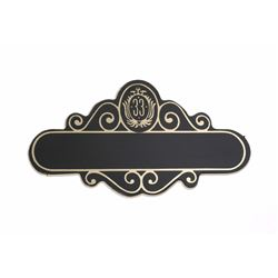 Club 33  Name Tag - Blank.