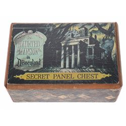 """""""Haunted Mansion"""" Secret Panel Chest - Small."""