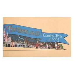 Kim Irvine Fantasyland Construction Wall Design Painting