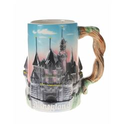3-D Fantasyland Decorative Stein.