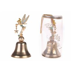 Pair of (2) Tinker Bell Brass Bells.